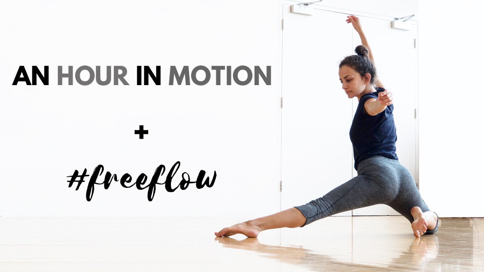 An Hour In Motion And Freeflow Classes Dublin